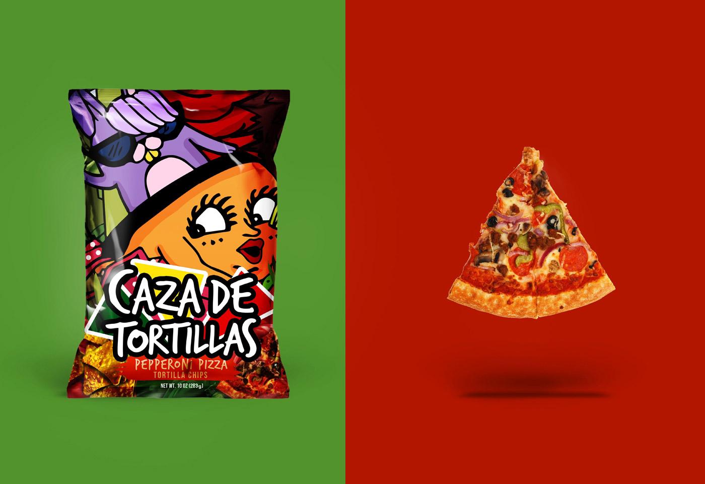 零食玩家-趣味食品包装设计